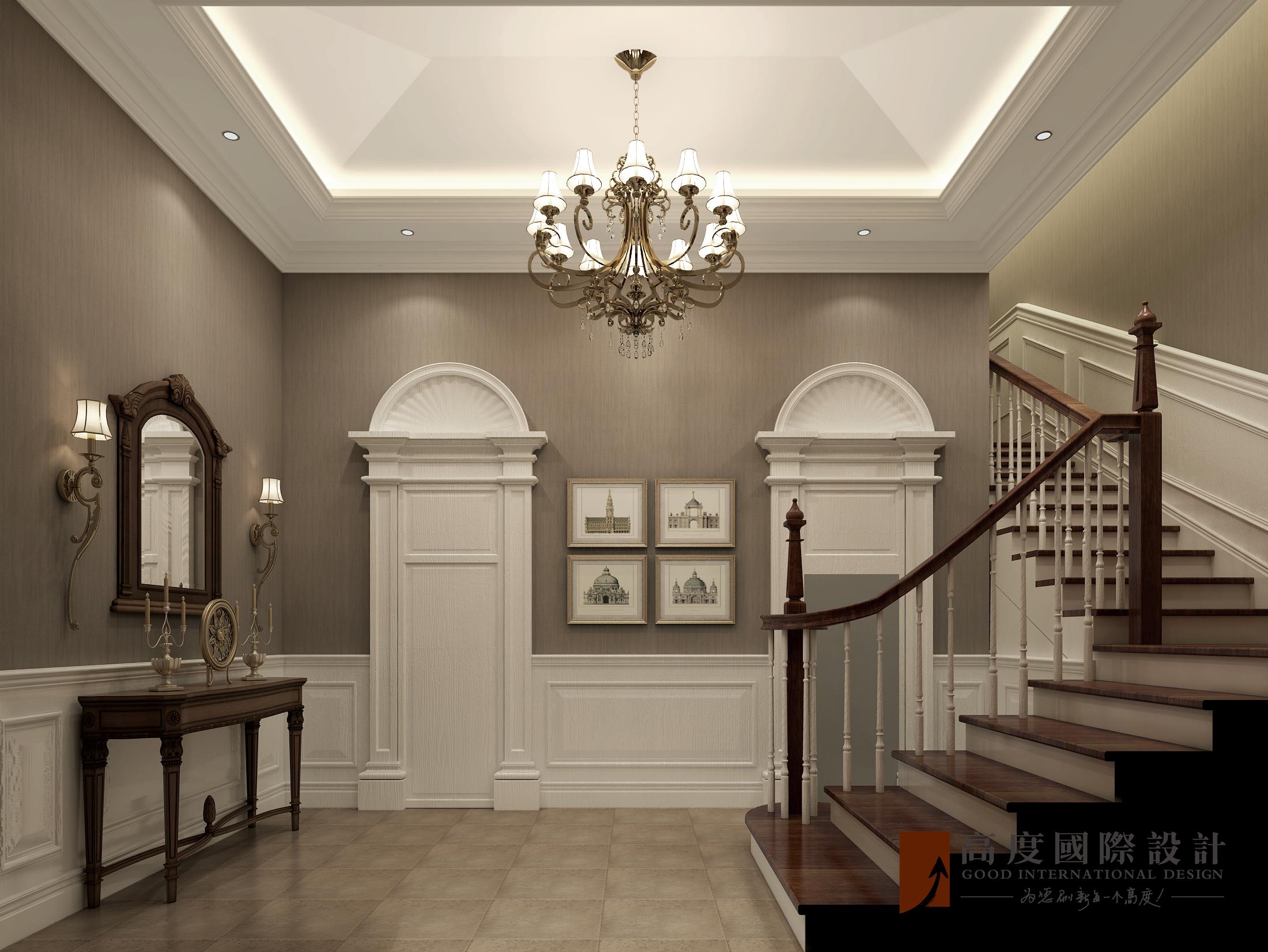 楼梯图片来自北京高度国际在东亚华欣湾--欧式风格的分享