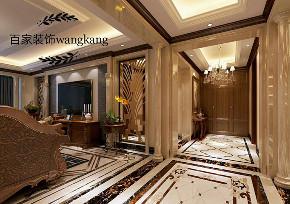 欧式 三居 保利五月花 客厅图片来自百家设计小刘在保利五月花142平欧式风格的分享