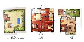 四居 天一 天境 欧式 实创 青岛 户型图图片来自实创装饰小彩在天一仁和天境160平四居室欧式的分享