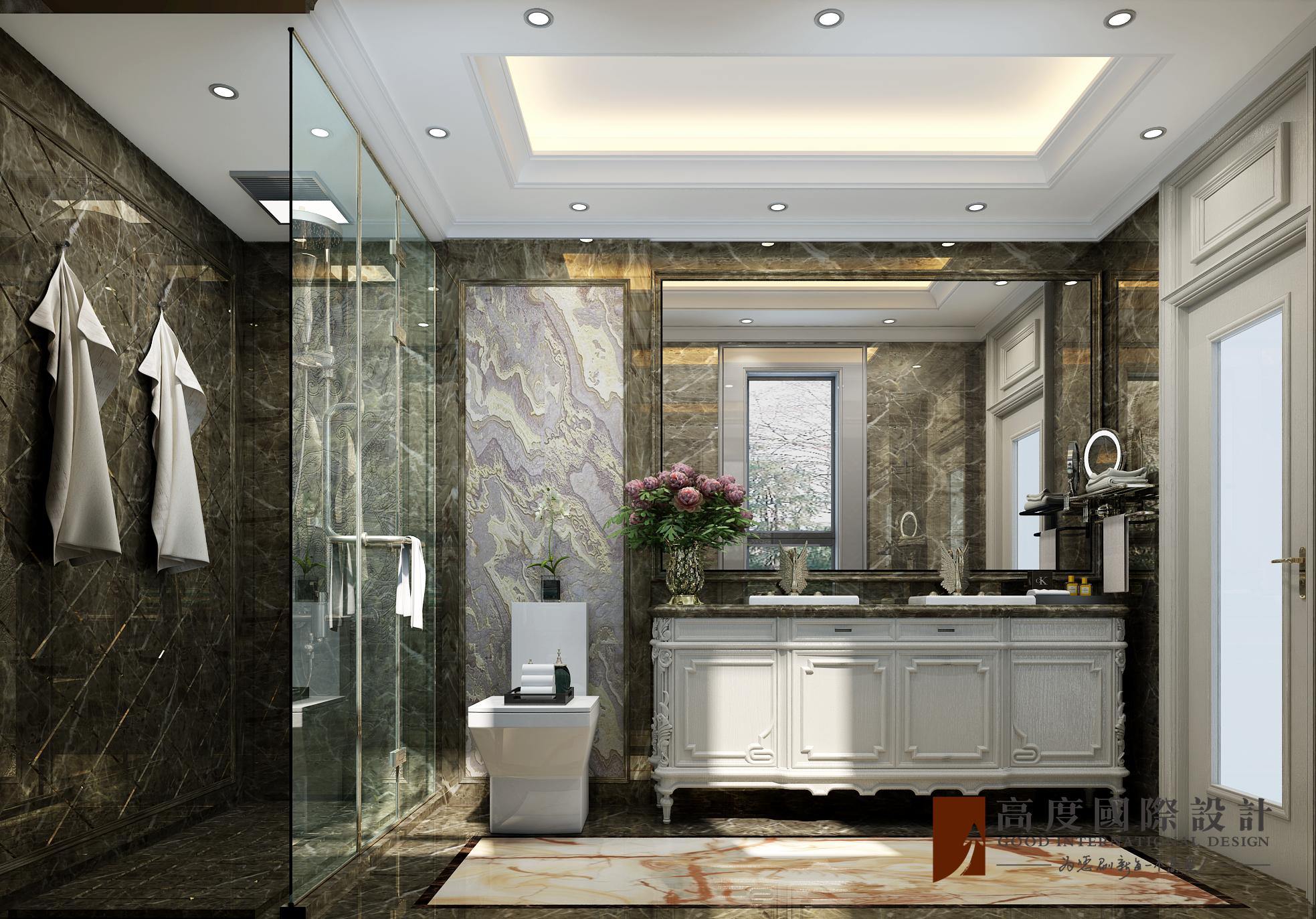 卫生间图片来自北京高度国际在东亚华欣湾--欧式风格的分享