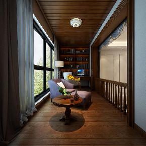 欧式 复式装修 简欧风格 西安装修 装修公司 阳台图片来自西安城市人家装饰王凯在202㎡简欧风格,忘不了奢华优雅的分享