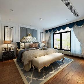 欧式 复式装修 简欧风格 西安装修 装修公司 卧室图片来自西安城市人家装饰王凯在202㎡简欧风格,忘不了奢华优雅的分享