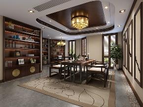 金大元 别墅装修 欧美风格 腾龙设计 书房图片来自腾龙设计在金大元别墅项目装修欧美风格的分享