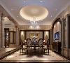 华庭别墅300平欧式古典风格设计