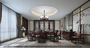 别墅装修 中式风格 腾龙设计 餐厅图片来自周峻在2300平独栋别墅中式风格设计的分享