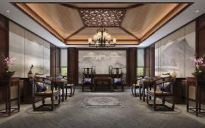 别墅装修 中式风格 腾龙设计 卧室图片来自周峻在2300平独栋别墅中式风格设计的分享