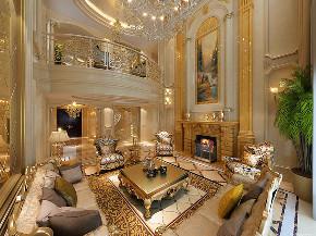 华亭别墅 装修设计 欧式古典 腾龙设计 客厅图片来自腾龙设计在华亭别墅项目装修欧式古典风格的分享