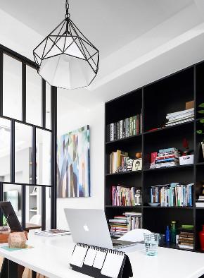 简约 二居 北欧 书房图片来自言白设计在黑白的分享