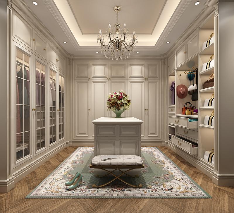 皇朝别墅 装修设计 欧美风格 腾龙设计 卧室图片来自孔继民在皇朝别墅 项目装修欧式古典风格的分享