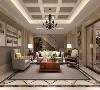 皇朝别墅项目装修欧美古典风格设计,上海腾龙别墅设计作品,欢迎品鉴