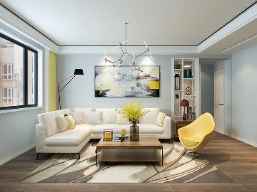 北欧风格家居装修设计----简爱