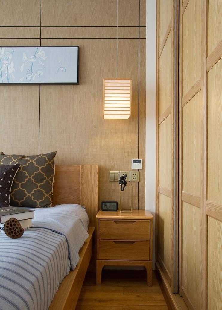 简约 三居 卧室图片来自言白设计在和式风格的分享