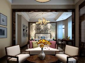 别墅 80后 小资 阳台图片来自装家美在阳光揽胜216平米中式风格的分享