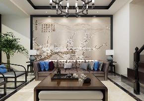 中式 三一新境界 客厅图片来自百家装饰LL在三一新境界的分享