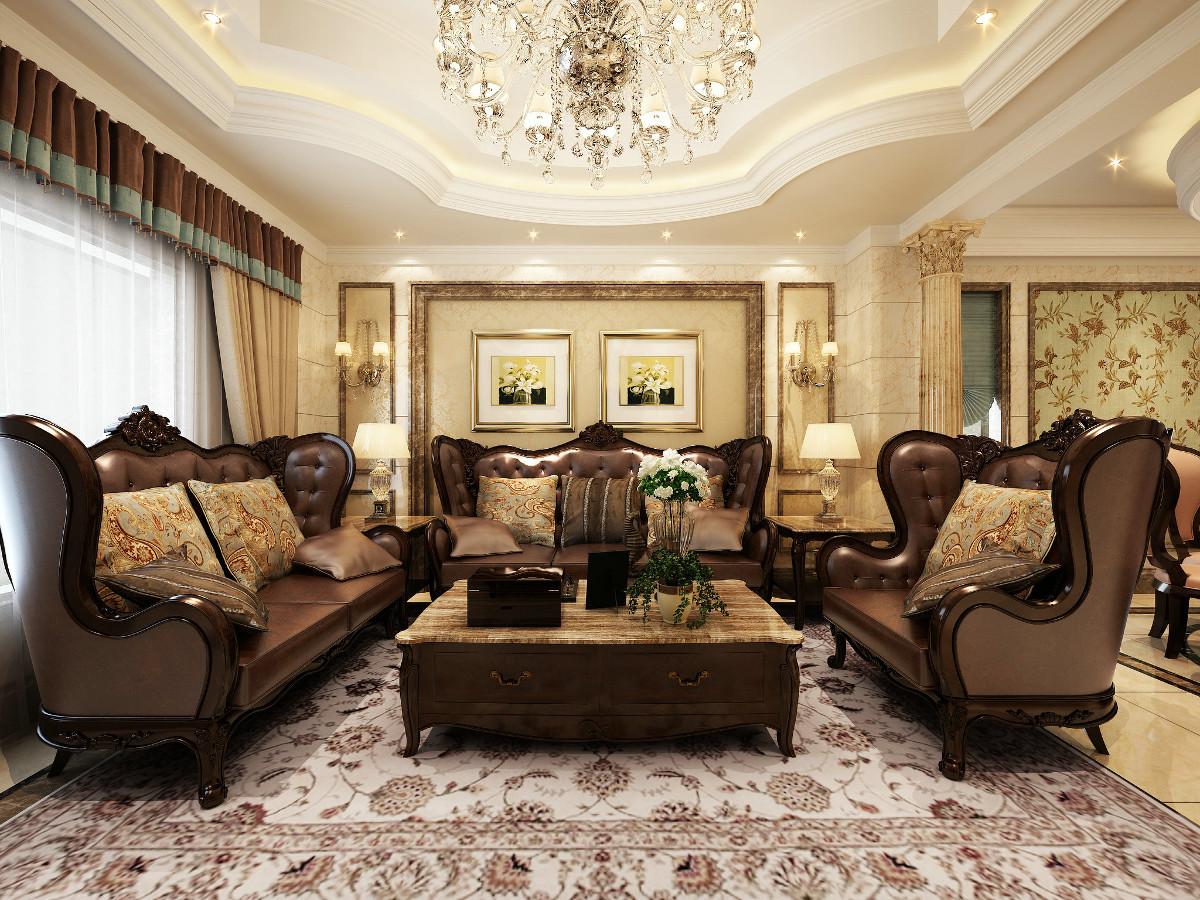 美丽华花园别墅700平独栋别墅项目装修欧式古典风格设计方案展示,上海腾龙别墅设计作品,欢迎品鉴!