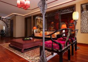 万科花园 中式 客厅图片来自百家装饰LL在万科花园的分享