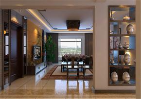 远洋公馆 中式 客厅图片来自百家装饰LL在远洋公馆180的分享