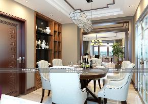 三居 金地悦峰 中式 餐厅图片来自百家装饰LL在金地悦峰的分享