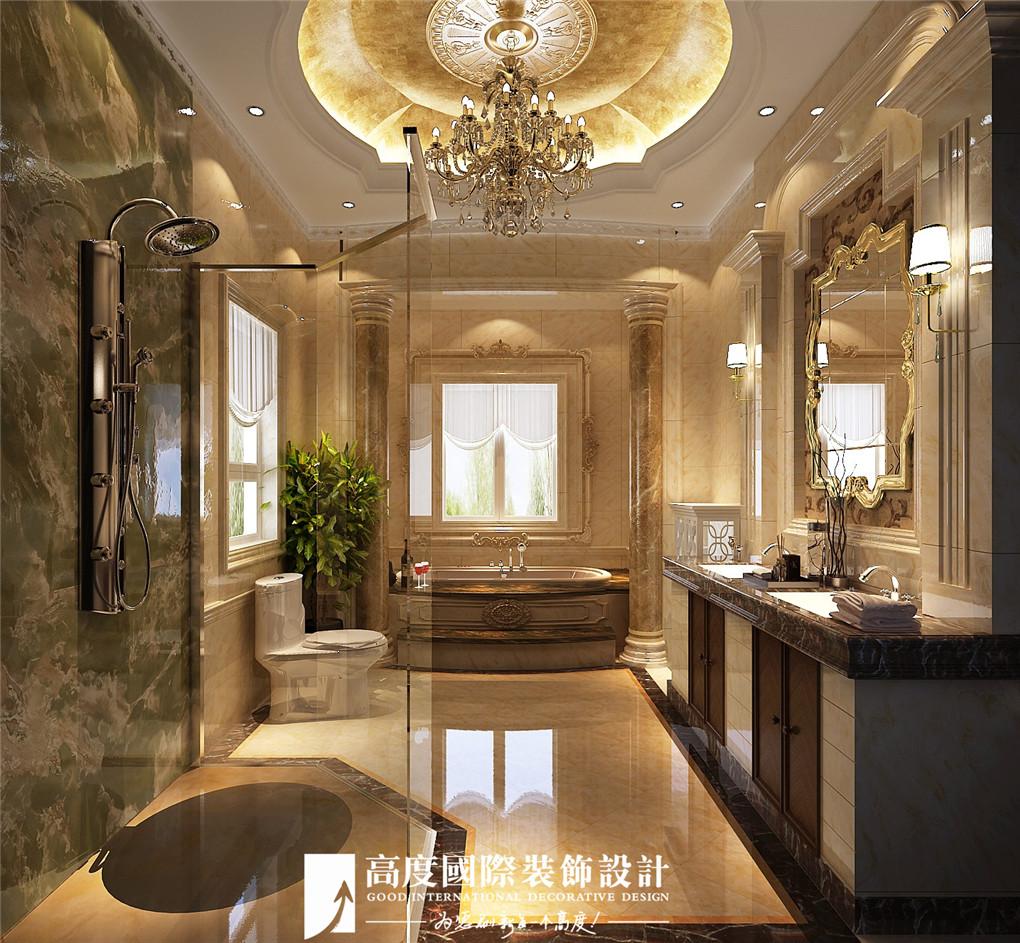 卫生间图片来自北京高度国际在格拉斯小镇奢华欧式风格美美的的分享