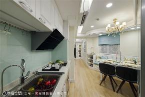 小资 80后 旧房改造 收纳 白领 新古典 厨房图片来自幸福空间在40平,打造高CP值新婚古典宅的分享