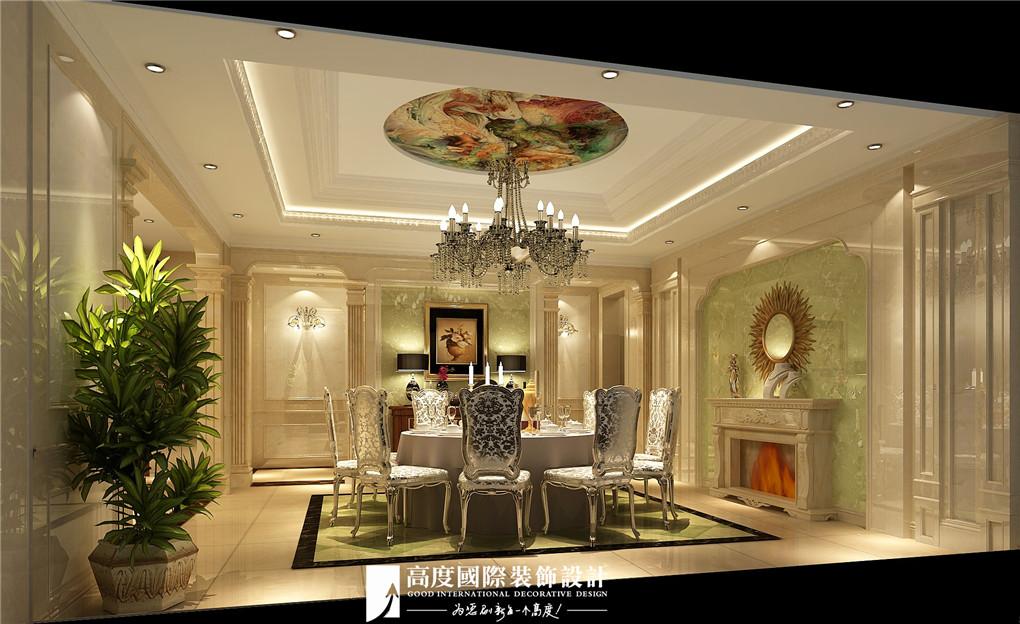 餐厅图片来自北京高度国际在格拉斯小镇奢华欧式风格美美的的分享