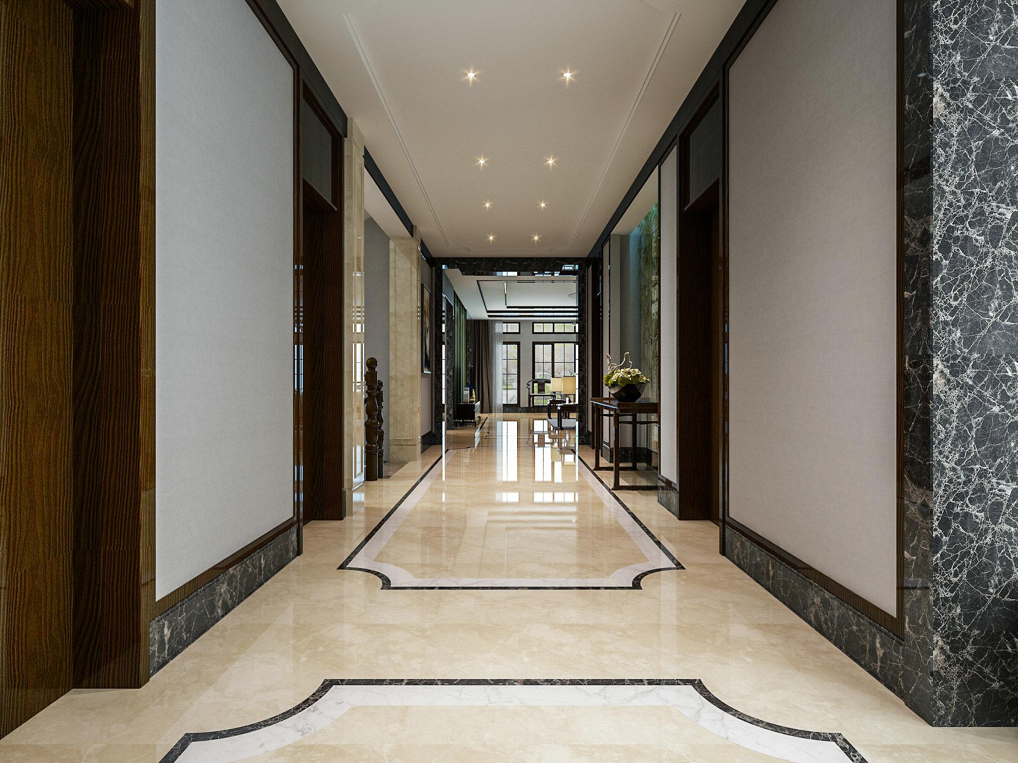虹桥高尔夫 别墅装修 新中式风格 腾龙设计 其他图片来自孔继民在虹桥高尔夫别墅新中式风格设计的分享