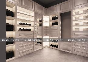 衣帽间图片来自沈阳百家装饰小姜在华润二十四城124平现代风格的分享