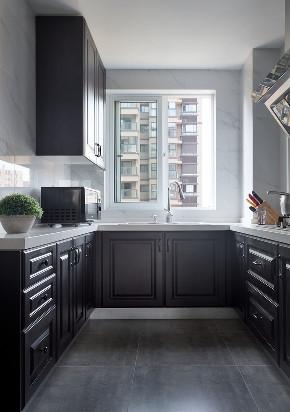 简约 三居 厨房图片来自言白设计在给予信任的家的分享