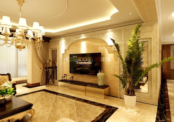 尚景新世界 欧式 客厅图片来自百家装饰LL在尚景新世界 177平欧式风格的分享