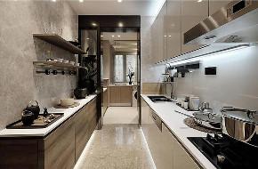 仁恒滨江 现代风格 腾龙设计 厨房图片来自周峻在仁恒滨江大平层现代风格设计的分享