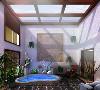 汤山庭院--中式风格