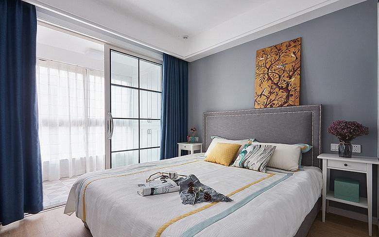 卧室图片来自家装大管家在78平北欧极简居 色调清雅大方的分享