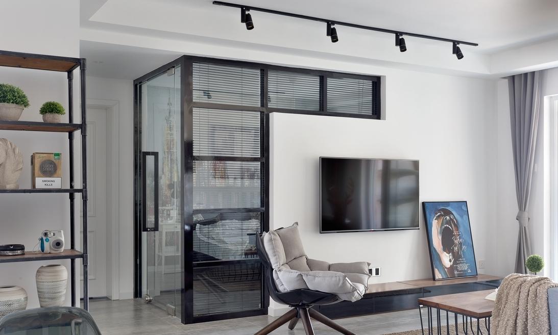简约 三居 客厅图片来自言白设计在给予信任的家的分享
