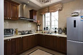 锦绣逸庭 别墅装修 欧美风格 腾龙设计 厨房图片来自周峻在锦绣逸庭别墅装修欧美风格设计的分享