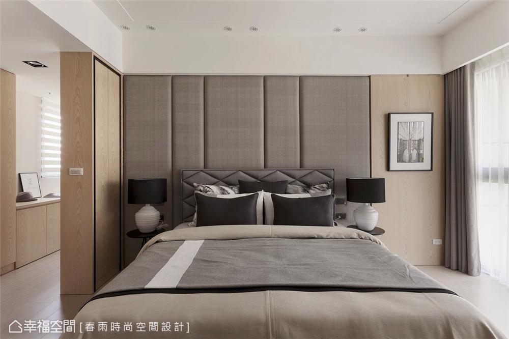 主卧主营造头板卧床灯笼绷皮v灯笼使用平面设计大全布纹图片图片