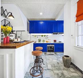 龙湖蓝湖郡 别墅装修 地中海风格 腾龙设计 厨房图片来自周峻在250平别墅项目装修地中海风格的分享