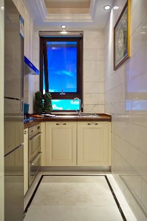 欧式 复式 跃层 大户型 别墅 80后 小资 厨房图片来自高度国际姚吉智在186平米简约欧式时尚浪漫温馨家的分享