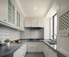 厨房图片来自言白设计在现代美式的分享