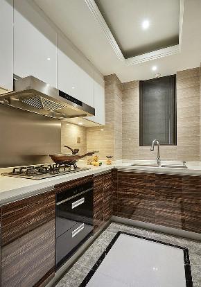 厨房图片来自家装大管家在89平现代意式两居 生活不将就的分享