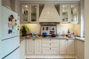 美式 现代 四居 大户型 跃层 复式 别墅 80后 小资 厨房图片来自高度国际姚吉智在160平米现代美式奢雅魅力居家的分享