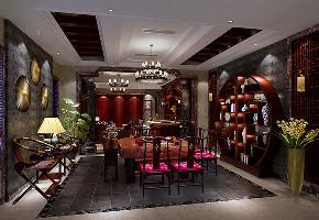 揽海高尔夫 别墅装修 新古典 腾龙设计 餐厅图片来自孔继民在揽海高尔夫500平别墅新古典设计的分享
