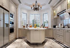 金大元 别墅装修 欧美风格 腾龙设计 厨房图片来自周峻在金大元御珑宫廷别墅装修设计的分享