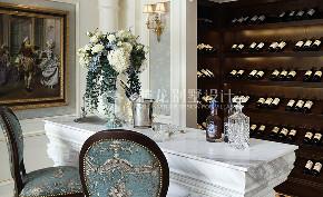 茶园别墅 装修设计 欧式风格 腾龙设计 厨房图片来自周峻在茶园别墅383平新古典欧式风格的分享