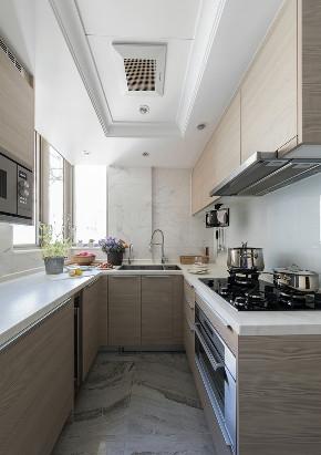二居 厨房图片来自言白设计在82㎡装LOFT工业的分享