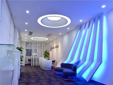 广州魔音音响公司办公室装修设计