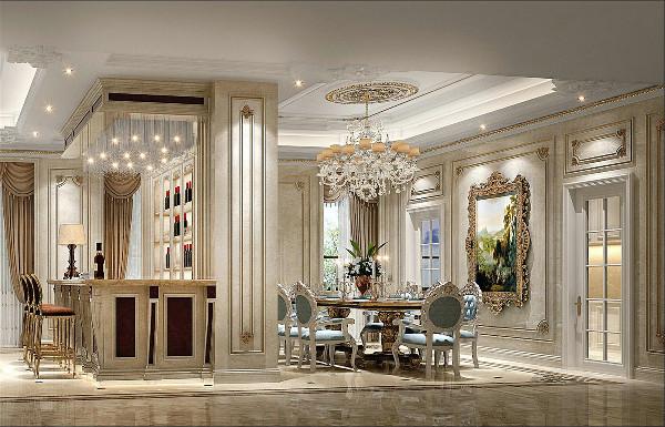 帕缇欧香苑别墅项目装修法式风格设计方案展示,上海腾龙别墅设计师谢炜作品,欢迎品鉴