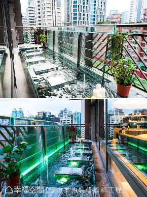 奢华风格 收纳 旧房改造 80后 小资 阳台图片来自幸福空间在258平,传世豪邸,工艺绝代风华的分享