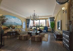 中海盛京府 150 地中海 客厅图片来自百家装饰LL在中海盛京府 150的分享