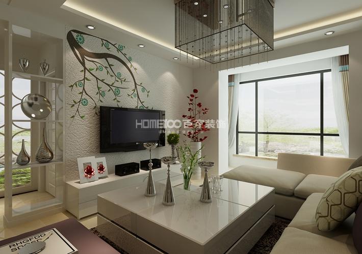 格林玫瑰湾 89 客厅图片来自百家装饰LL在格林玫瑰湾 89的分享