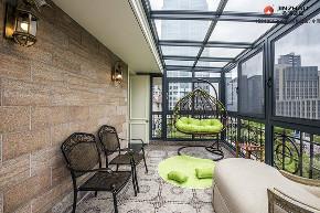阳台图片来自装家美在阳光翡丽湾300平米古典风格的分享